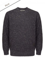 Plain Crew Neck Sweater - Peat