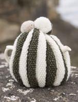 Striped Aran Tea Cosy