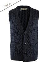 Men's V-Neck Waistcoat - Derby