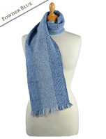 Aghadoe Wool Scarf - Powder Blue