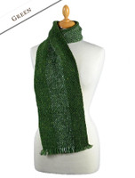 Aghadoe Wool Scarf - Green