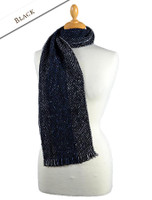 Aghadoe Wool Scarf - Black