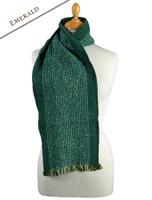 Mangerton Wool Scarf - Emerald