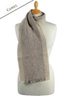 Mangerton Wool Scarf - Camel