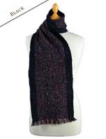 Mangerton Wool Scarf - Black