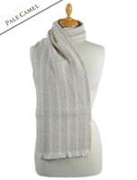 Torc Wool Scarf - Pale Camel
