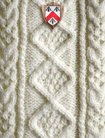 Walsh Clan Aran Throw