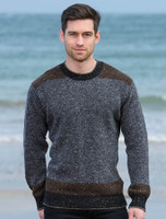 Lismore Crew Neck Sweater - Charcoal