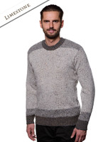 Lismore Crew Neck Sweater - Limestone
