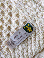 Moore Clan Aran Throw