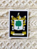 O'Connor Clan Aran Throw