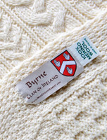 Byrne Clan Aran Throw