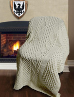 Moriarty Clan Aran Throw