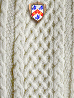 Mc Dermott Clan Aran Throw