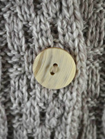 Cable Knit Button-Up Cardigan