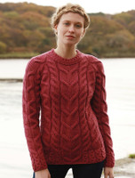 Cable Knit Aran - Jam