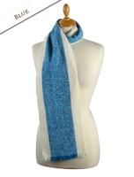 Deenagh Wool Scarf - Blue