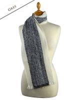 Deenagh Wool Scarf - Grey