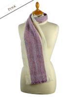 Deenagh Wool Scarf - Pink