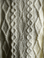 Barrett Clan Aran Throw