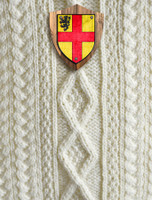 Burke Clan Aran Throw