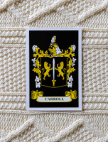 Carroll Clan Aran Throw