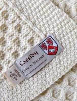 Cassidy Clan Aran Throw