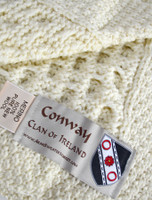 Conway Clan Aran Throw