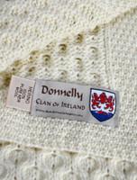 Donnelly Clan Aran Throw