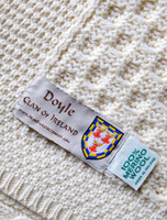 Doyle Clan Aran Throw
