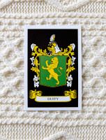 Duffy Clan Aran Throw