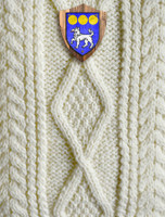 Flynn Clan Aran Throw