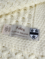Foley Clan Aran Throw