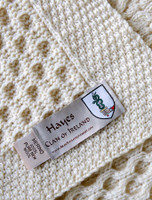 Hayes Clan Aran Throw