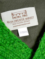 Handknit Fleece Lined Neckwarmer - Label