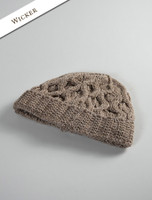 Merino Wool Cable Knit Hat - Wicker