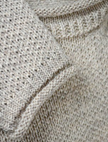 Merino Roll Neck Sweater - Detail