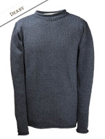 Merino Roll Neck Sweater - Derby