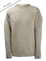 Merino Roll Neck Sweater - Wicker