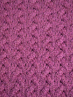 Super Soft Aran Infinity Scarf - Detail