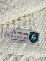 Hennessy Clan Aran Throw