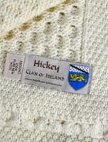 Hickey Clan Aran Throw