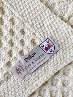 Dillon Clan Aran Throw
