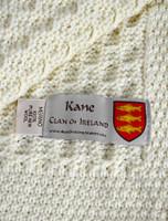 Kane Clan Aran Throw
