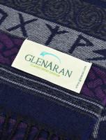 GlenAran Celtic Runic Pattern Scarf