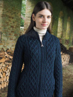Plated Coat with Celtic Zip - Blackwatch Mix