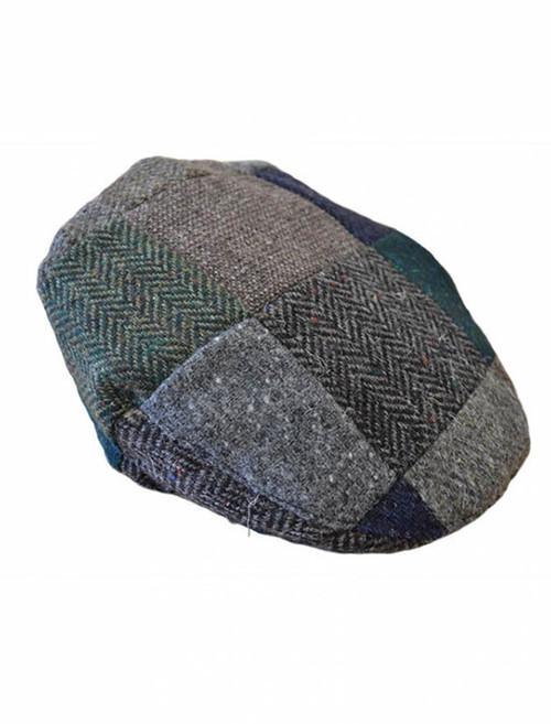 Patchwork Flat Cap