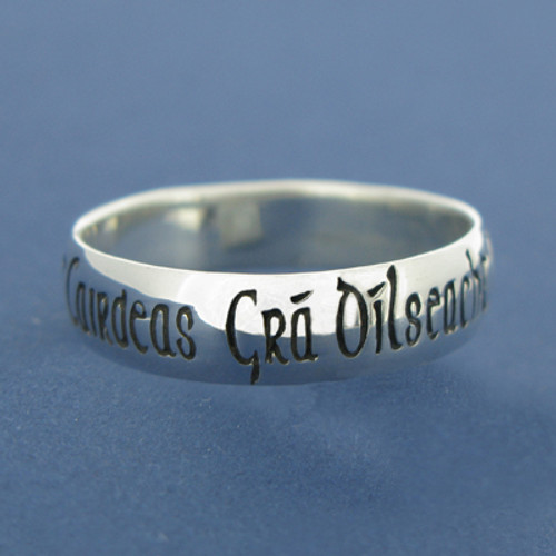 Sterling Silver Irish Ring - Gents