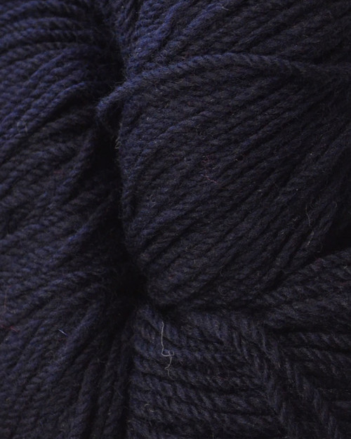Aran Wool Knitting Hanks - Navy