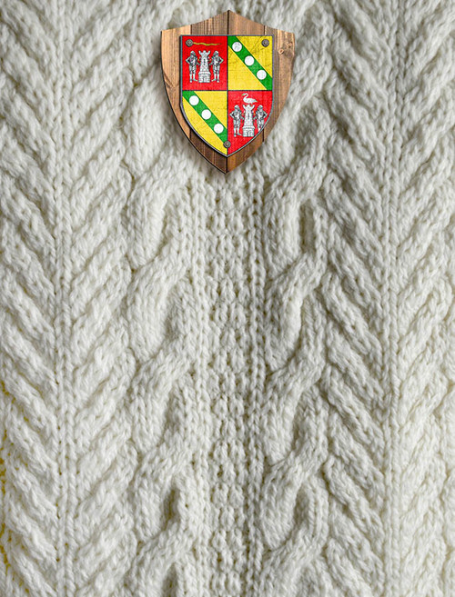 Egan Clan Aran Throw